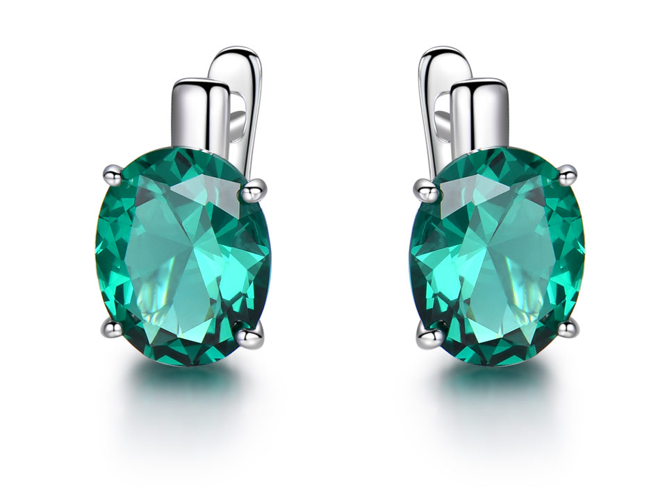 UMCHO-Emerald-925-sterling-silver-clip-for-women-EUJ085E-1-PC_02
