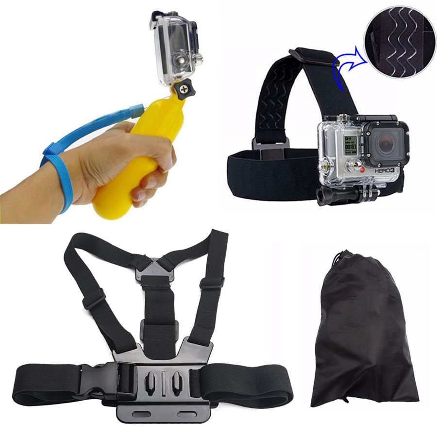 accesorios gopro hero 4 gopro float mount for xiaomi yi gopro hero 4 3 3+ 2 블랙 에디션 SJCAM SJ4000 SJ5000 액션 카메라