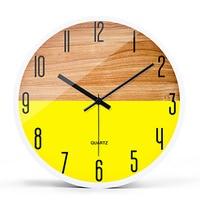 Retro Wooden Wall Clock Modern Design Digital Vintage Clock Mechanism Kitchen Silent Watch Guess Women Pow Patrol Decor 50Q186