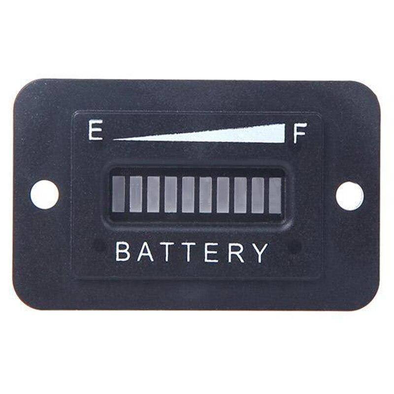 Батарея Статус индикатор заряда Мониторы метр колеи светодиодный цифровой 12 В и 24 В Великобритании