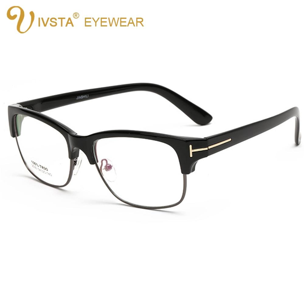 IVSTA 2530 demi blue Flexible TR90 Mens Glasses Oversized ...