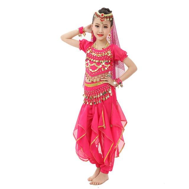 d363e158c8b6 Online Shop 2018 Girl Children Belly Dance Costumes 2Pcs 6Pcs ...
