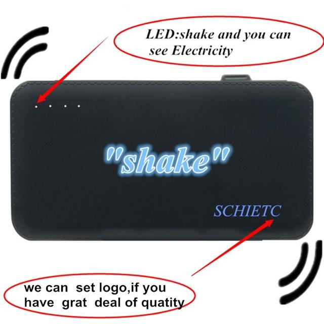 Original de carga rápida 8000 mah 2.1a multifunción banco de la energía de carga usb powerbank batería externa para todos los teléfonos, xiaomi iphone