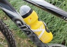 Mountain Bike Bicicleta Ciclismo Deportes Al Aire Libre Plástico Portable 650 ml Botella de Agua con Tapa De Paja TY726