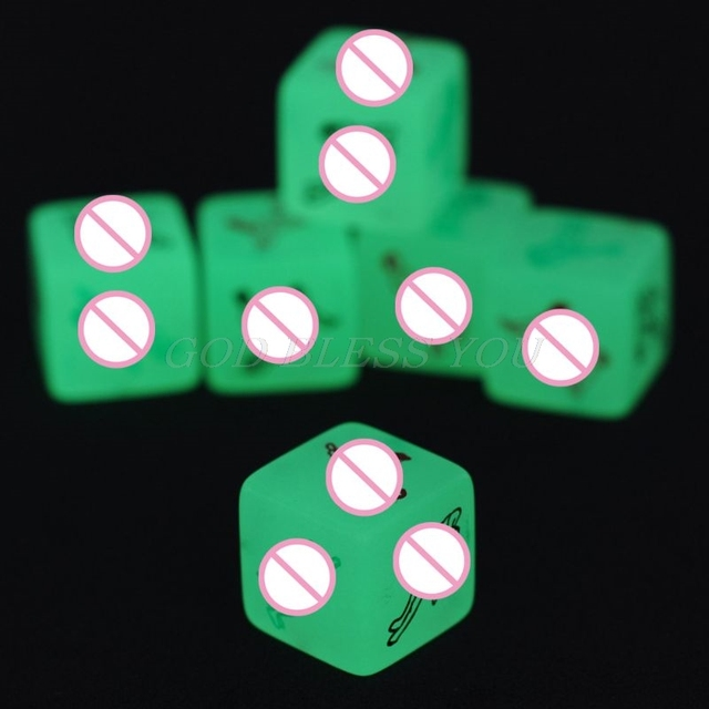 a02b920b712 1PC Kama sutra Glow in the Dark Love Sex Dice Erotic Saucy Fun Adult Game  Hen Stag