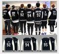 Bts Bangtan kpop k pop bigbang children hooded youth club Bangtan bts Bulletproof children who served baseball uniform coat
