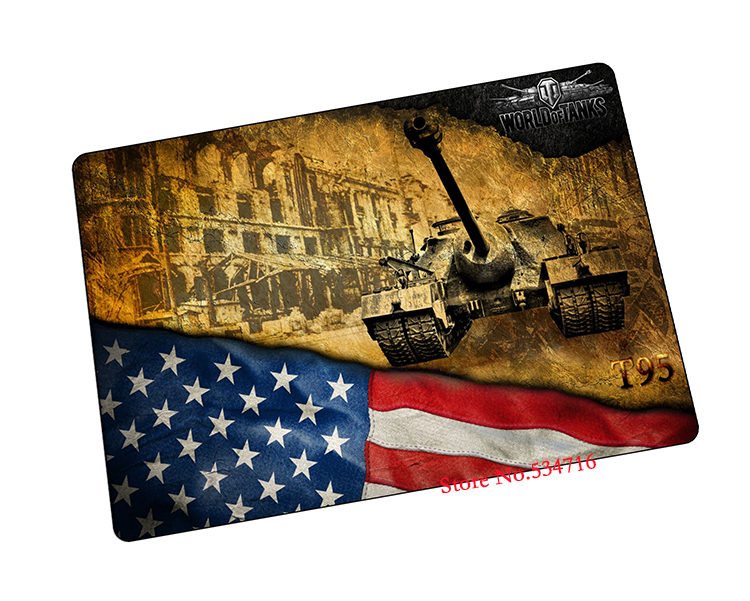 best seller World of Tanks mousepad T95 tank gaming mouse pad gamer large notbook computer mouse mat laptop play mats padmouse