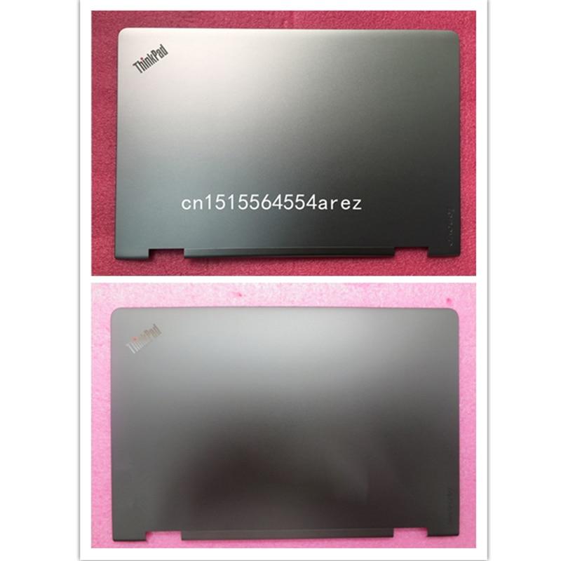 Nouveau boîtier d'origine pour ordinateur portable Lenovo thinkpad S5 Yoga 15 LCD couvercle arrière argenté/noir 00JT309 am16v000200 00JT307 am16v000210