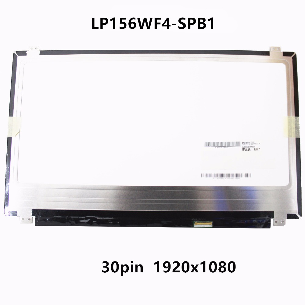 New 15.6 inch LCD Screen IPS Panel Display Matrix Replacement LP156WF4 SPB1 For Samsung ATIV Book 8 NP880Z5E X01UB LED WUXGA FHD new 14 0 slim lcd screen display panel laptop matrix replacement n140hce en1 30 pins edp ips high gamut wuxga fhd 1920x1080