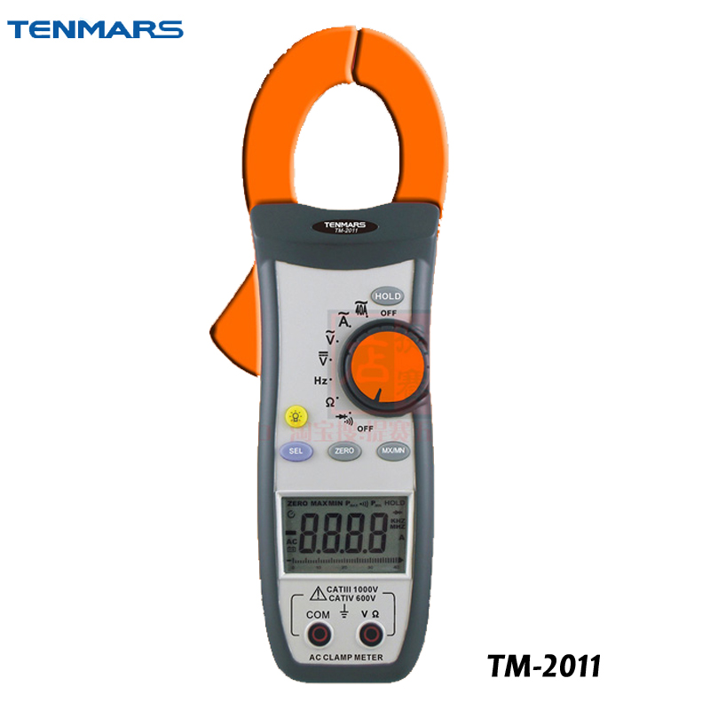 TM-2011 Handheld Clamp Meter AC Digital Clip-on Table TesterTM-2011 Handheld Clamp Meter AC Digital Clip-on Table Tester