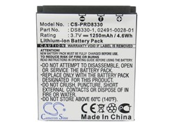 Cameron Sino 1250mAh Battery for Premier DS8330, For PRIMA DS-588,DS-8330, DS-8340, DS-8650, DS-888, DS-A350, For Sealife DC 800