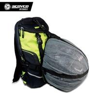 Waterproof Motorcycle Backpack Bag Reflective Helmet Bag Motorcycle Racing Bag