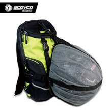 Waterproof Motorcycle Backpack Bag Reflective Helmet Bag Motorcycle Racing Bag