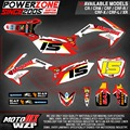 CRF 250 450 R X CRF250 CRF450 CRF250 Team Graphics Backgrounds Decals Stickers Motor cross Motorcycle Dirt Bike MX Racing Parts