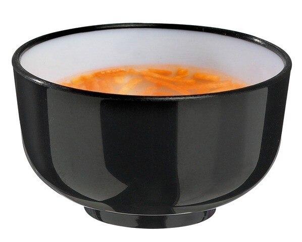 Free Shipping Party Suppliers, Disposable <font><b>Plastic</b></font> Tableware, <font><b>50</b></font>*28mm <font><b>Black</b></font>/Beige 30ml/1oz. Mini Thai Soup Bowl, 100/<font><b>Pack</b></font>