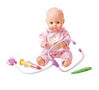New 40cm Lovely Like Real Baby Doctor Set Reborn Doll Brinquedos Accessories