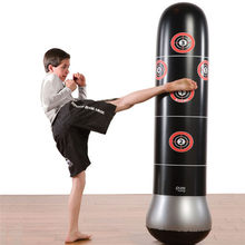 Boxing Punching Bag Inflatable Free-Stand  Tumbler Muay Thai Training Pressure