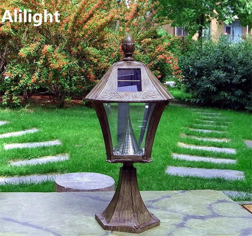 Lamparas de jardin exterior lmpara de pie exterior led - Lamparas de jardin exterior ...