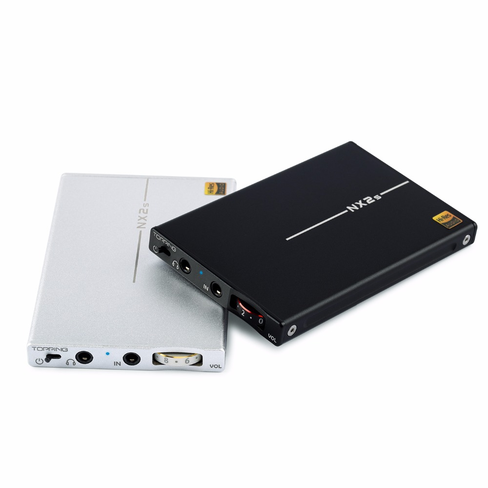 TOPPING NX2S MINI HIFI USB DAC OPA1652 LMH6643 SA9226 32Bit Portable Audio Headphone Amplifier Available OTG