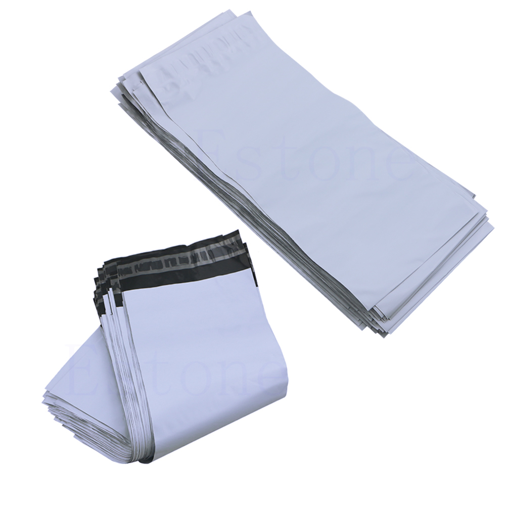 100PCS Solid Color Envelopes Courier Bags Office Paper Multi-purpose Envelopes
