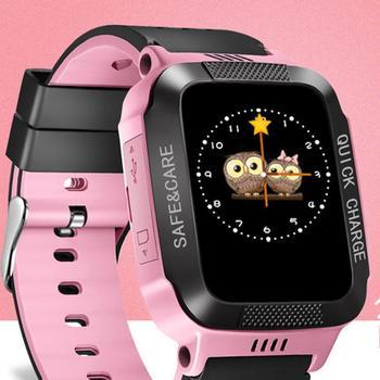 GEJIAN Kinder Uhr Kinder Positionierung Handy 1,22 Zoll Farbe Touch Screen WIFI SOS Rufen Sie Für Helfen Baby Anruf Uhr