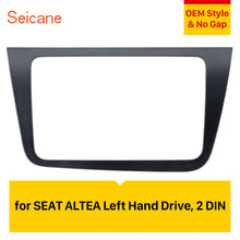 Seicane 2 DIN Car Radio Fascia Dash Trim Kit para 2004 + SEAT Altea Toledo LHD * 220*130mm reproductor de DVD ESTÉREO(China)