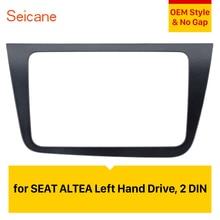 Seicane 2 DIN Auto Radio Fascia Dash Trim Kit Per Il 2004 + SEAT Altea Toledo CON GUIDA A SINISTRA 220*130 millimetri stereo Lettore DVD ripara la Struttura