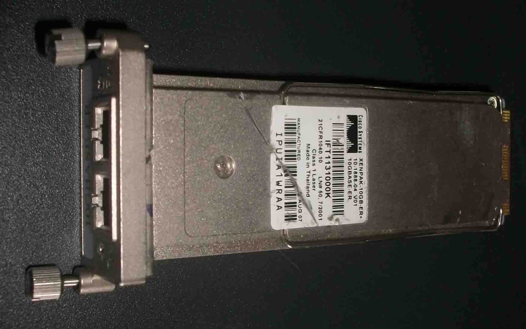 XENPAK-10GB-ER + =XENPAK-10GB-ER + =