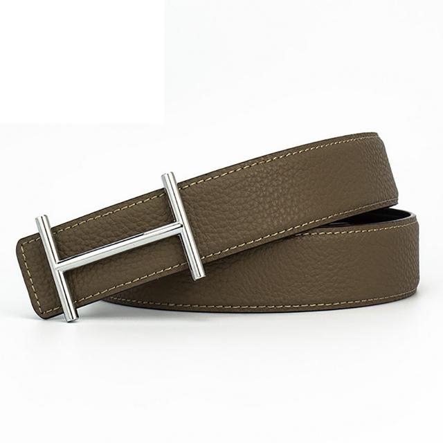 H Cinturones Diseñador de la Marca de Lujo para Hombre de Cuero Genuino Ocasional Masculina Mujeres Jeans Vintage Correa de Cintura de Moda de Alta Calidad
