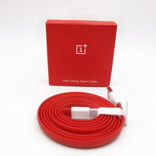 Original ONEPLUS 5 5t 3 3T Dash Charge Cable 100cm/150cm Red Noodles Fast Charger Cable For One plus Three Five Mobile Phones