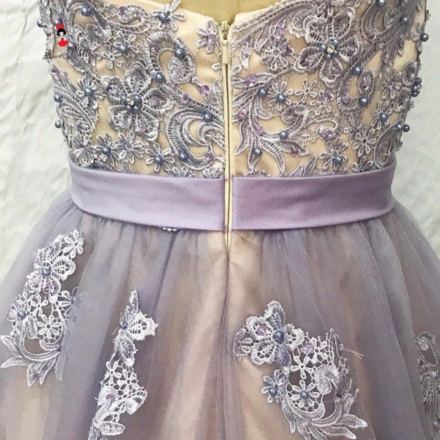 Online Shop Vestido De 15 Anos Lavender Lace Plus Size Cheap