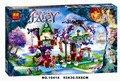 Série elfos Elves' Treetop Hideaway 507 pcs Bela 10414 blocos de construção tijolos brinquedos modelo compatível com Legoe 41075 LR-747