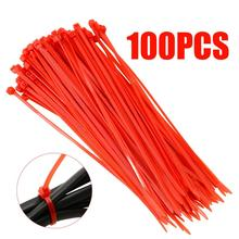 100Pcs/set Pack 150mm Self-Locking Nylon Cable TiesFor RC Car Replacement Strap 5 Colors