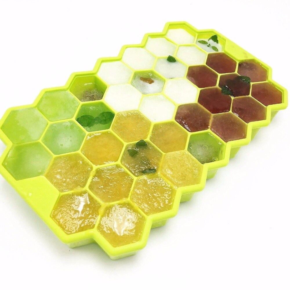 1 unids Modelado de Nido de abeja de Silicona Cake Mold Chocolate Hielo Honey Be