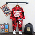 Girls Clothing Set Sports Coat Kids Clothes Autumn Boys Costume Sport Suits Boys Clothing Set ( Camouflage T-shirt + Pants) 2-8Y