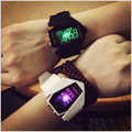 Men and women fashion watch brand electronic watch LED display 2016 new couple fashion bracelet watch