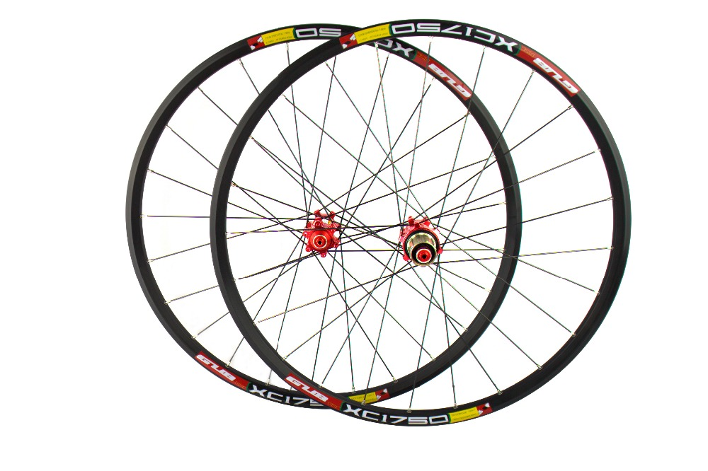 with original GUB hubs MTB/moutain carbon wheels 26er 27.5er bike wheelset clincher rims wheel set mountain bike four perlin disc hubs 32 holes high quality lightweight flexible rotation bicycle hubs bzh002