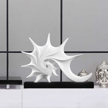 modern Minimalist creative resin conch statue home decor crafts room decoration objects office ornament study figurines