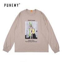Men Long Sleeve T Shirts Print Abella Danger Vintage Pattern Hip Hop Streetwear Tees Autumn Tshirts for Man Swag Man's T Shirts
