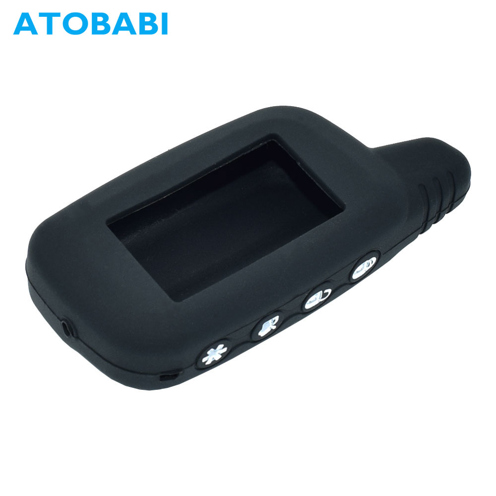 Silicone Key Case For Car Alarm Pantera SLK-625 SLK-675RS SLK-868RS SLK-450SC SLK-650RS SLK-850RS SLK-468 LCD Remote Shell Cover