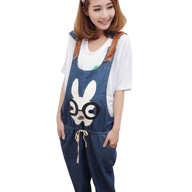 4794868466f3e Summer Denim Jumpsuits For Pregnant Women Maternity Blue High Waist  Suspender Jeans Overalls Pregnancy Rompers Pants Plus Size
