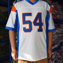 TIM VAN STEENBERGE Thad Castle 54 Mountain State TV Show de Futebol Jersey-W(China)