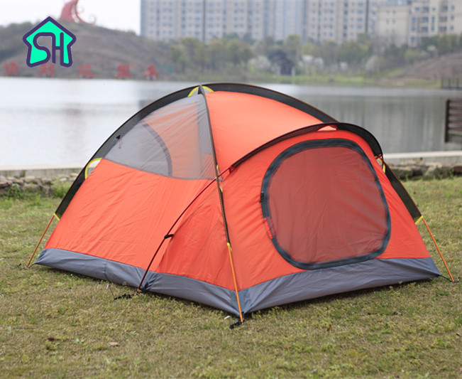 StarHome 2 Person Tent Outdoor Camping Waterproof 3000mm Double Layer Professional Beach Tent high quality outdoor 2 person camping tent double layer aluminum rod ultralight tent with snow skirt oneroad windsnow 2 plus