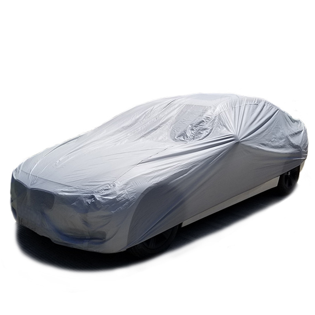 Car Cover Full Outdoor Sunscreen Heat Protection Dustproof Rain Snow Anti-UV Scratch-resistant Suit(China)