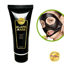 лучшая цена 80g FiiYoo Face Care Suction Black Mask Facial Mask Nose Blackhead Remover Peeling Peel Off Black Head Acne Treatments