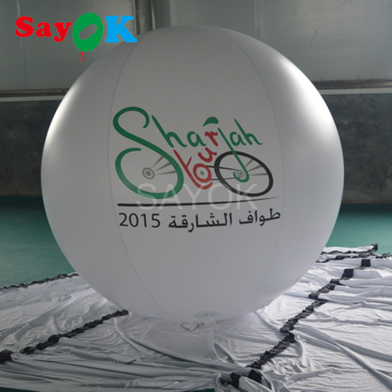 Customized advertising balloons inflatable PVC helium balloon,Inflatable sky balloon for event