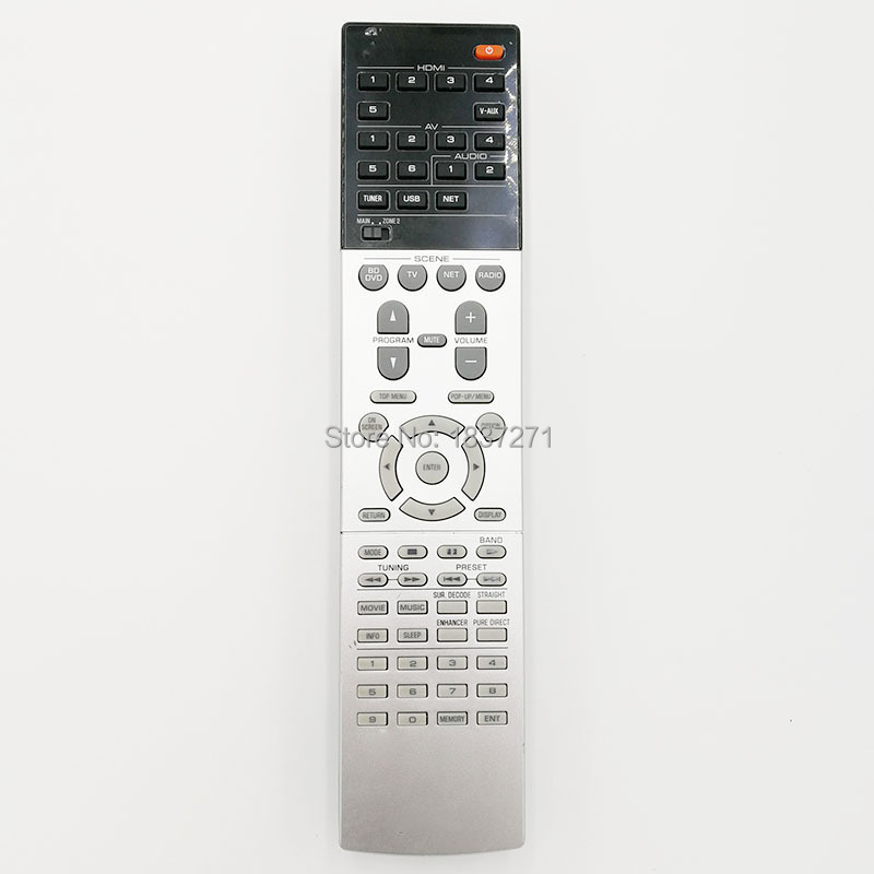цена на Original Remote Control for yamaha RX-V775 RX-V675 RX-V1075 RX-A1030 RX-A830 RX-A3040 RX-A2040 AV Power amplifier