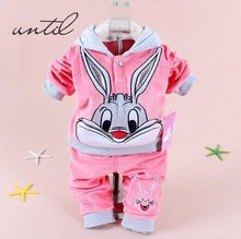 Baby Cartoon  Clothing Set  For Autum