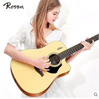 Luxembourg Genuine Guitar Folk Guitar 40 Inch 41 Inch Acoustic Guitar Beginner Entry Guitar Student Male