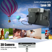 Dual lens 3D Video Camera Virtual Reality HD colorful, fashionable Video Camcorder for Android Telephone HUAWEI Mate 7/8/S